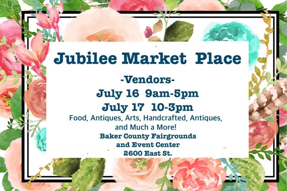 Jubilee Market Place Flyer